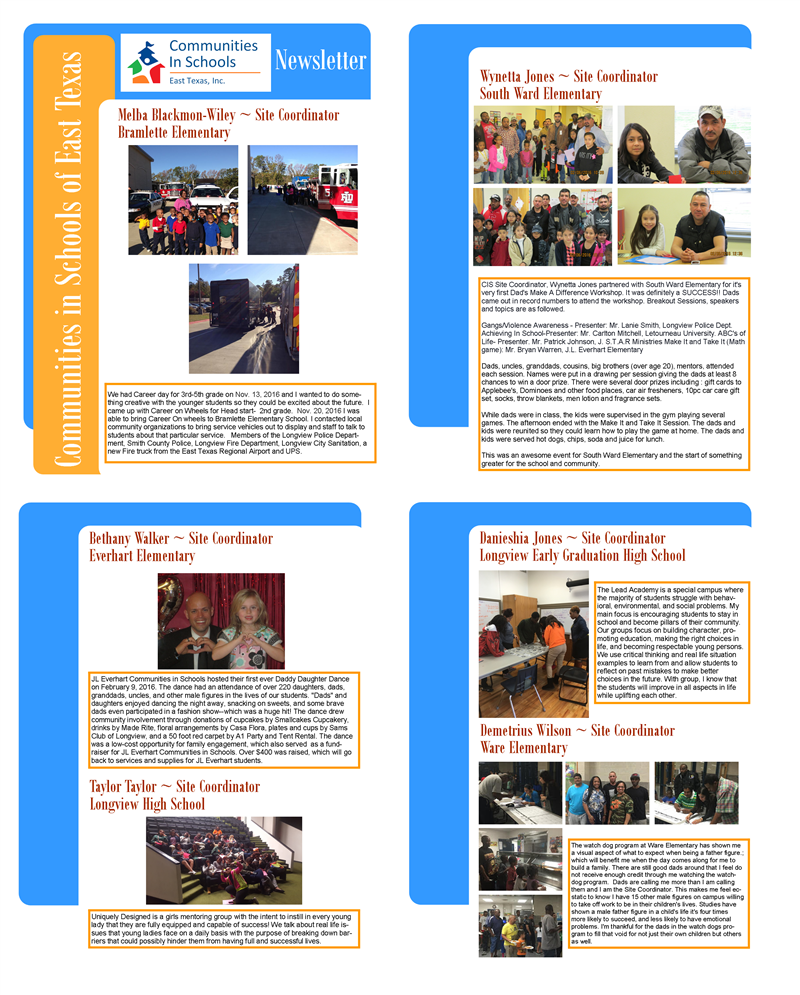 CISET - Newsletter for LISD